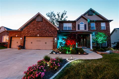 accent outdoor lighting st louis led home exterior path and accent lighting traditional