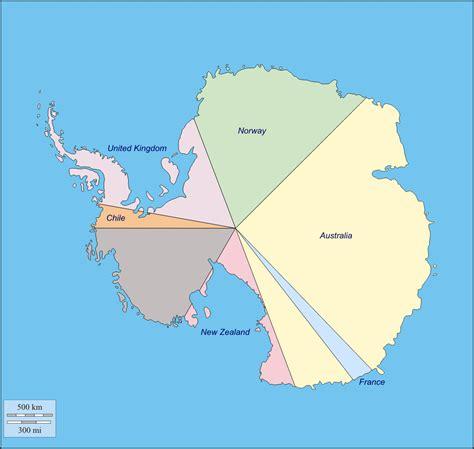 antarctica political map blank map of arctic region
