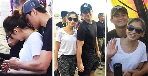 sarah and matteo latest news october 2015 spotted sarah geronimo and matteo guidicelli on a hot air