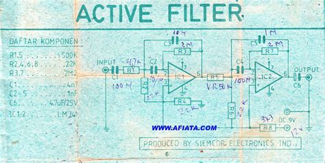 high pass filter using ic 741 audio filter circuit page 5 audio circuits next gr