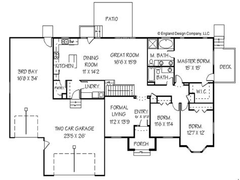 Ranch Style Floor Plan by Home Addition Floor Plans Home Addition Plans For Ranch