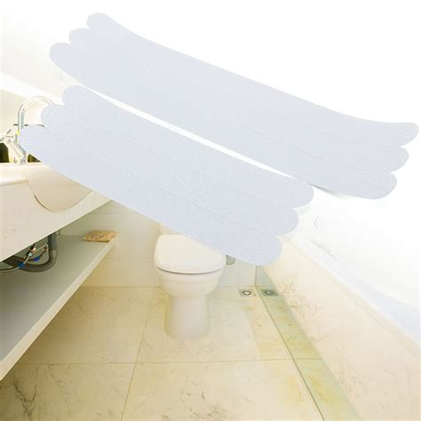 bathtub non slip treads bath tub shower non slip anti skid safety strips grip