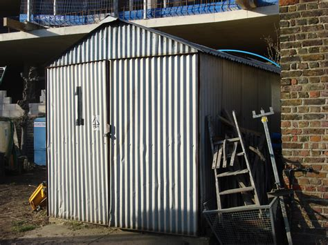 Corrugated Metal Shed by Summers 8x10 Tool Shed Plans