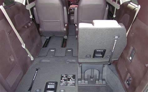 Kia Sedona Rear Seat Stuck The Third Row Seats Fold Conveniently Flat Picture