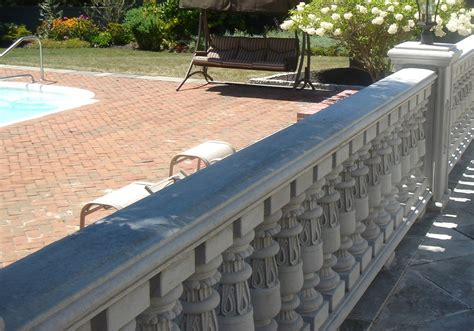 Concrete Balustrade Railing Concrete Balustrade Type 2 Carved