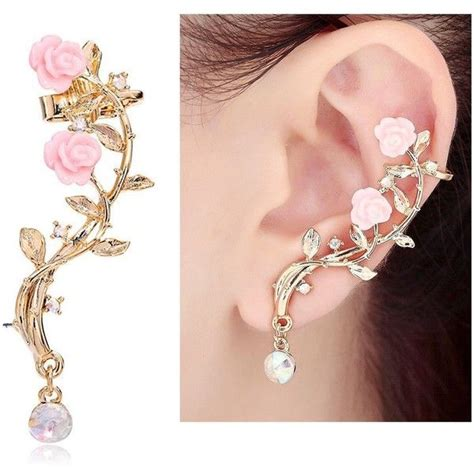 how to make ear cuffs jewelry best cuff earrings ideas on ear cuff earrings
