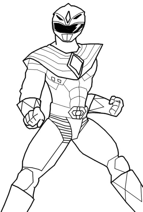 coloring pages green power ranger green power ranger free coloring pages sketch coloring page