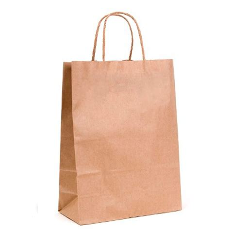 Brown Craft Paper Bags - brown kraft paper bags w28 215 h37 215 g11 cms