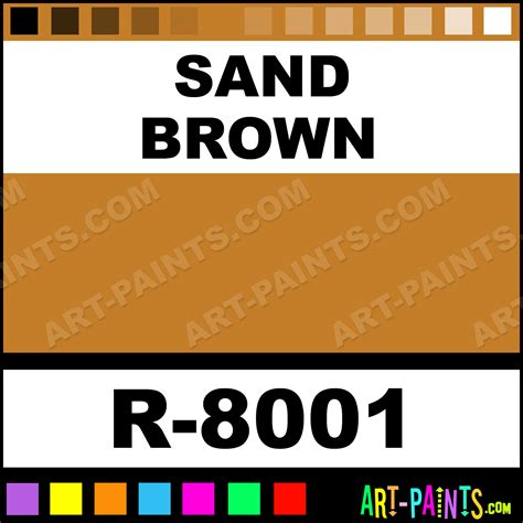sand brown spray paints r 8001 sand brown paint sand brown color montana