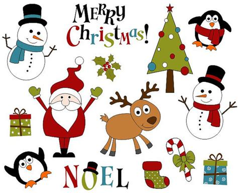 Cute Printable Christmas Decorations | cute christmas decoration clip art xmas scrapbook clipart