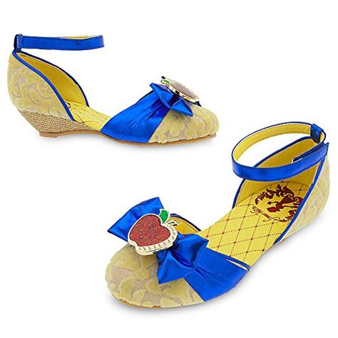 disney snow white costume shoes for size 7 8 toddler