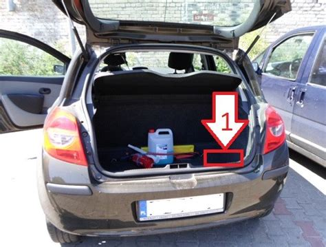 Where Is Vin by Renault Clio 2005 2008 Where Is Vin Number Find