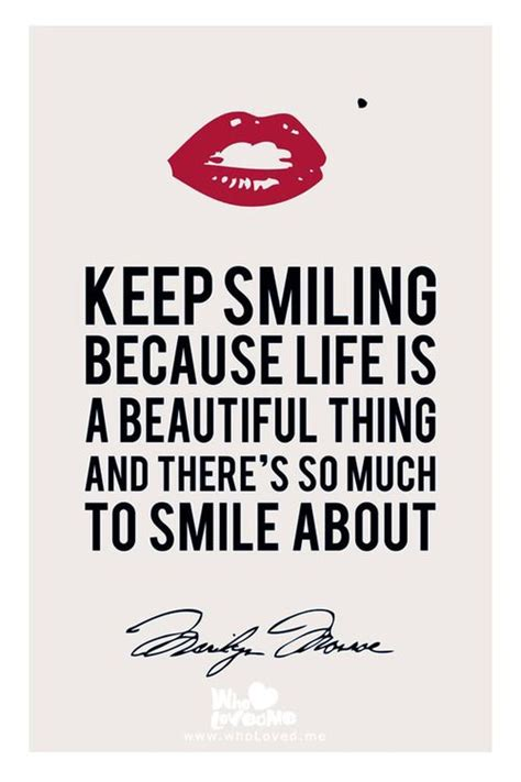 Smile Quotes 25 Best Keep Smiling Quotes On Keep Smiling