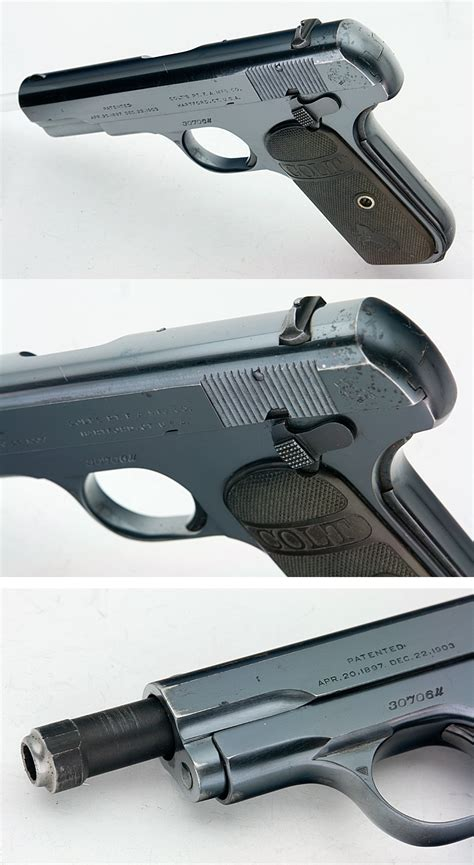 Try Before You Buy Part Iiifoundation Conceal 3 by Colt 1903 Hammerless Pocket Type Iii 32 Acp Semiauto
