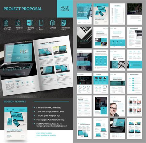 20 Best Business Proposal Templates Ideas For New Client Projects Indesign Business Templates Free