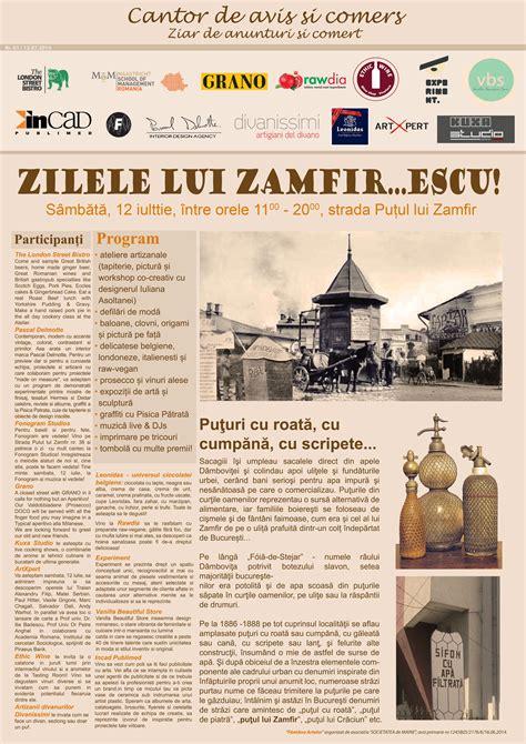 Maastricht Mba Bucuresti by Zilele Lui Zamfirescu Un Nou Festival De Strada Pe Putul