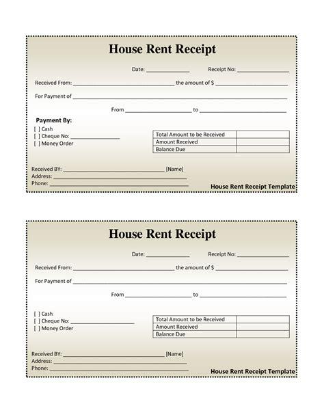 rent receipt template word techno docs