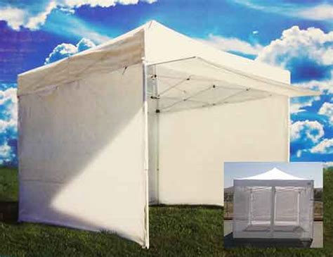 Ez Awning by Ez Up Canopy 10 X 10 Tent Instant Shelter White Awning 4
