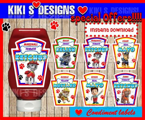 Paw Patrol Label Handuk Souvenir 17 images about paw patrol on straws birthday favors and favor bags
