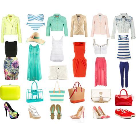 Capsule Summer Wardrobe by Ideal Summer Capsule Wardrobe Polyvore