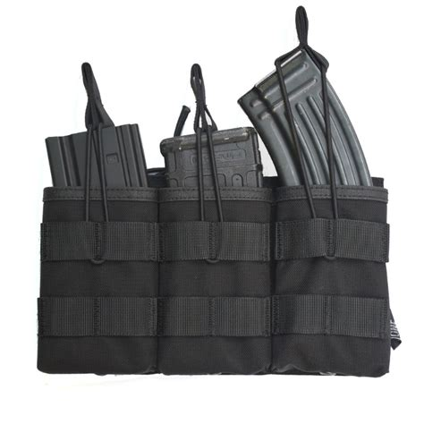 Nayaga Pouch M Dompet Pouch onetigris tactical molle open top magazine pouch fast ak ar m4 famas mag pouch airsoft