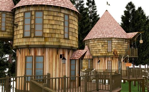 jk rowling hogwarts house j k rowling conjures up 40 foot tree houses luxury insider