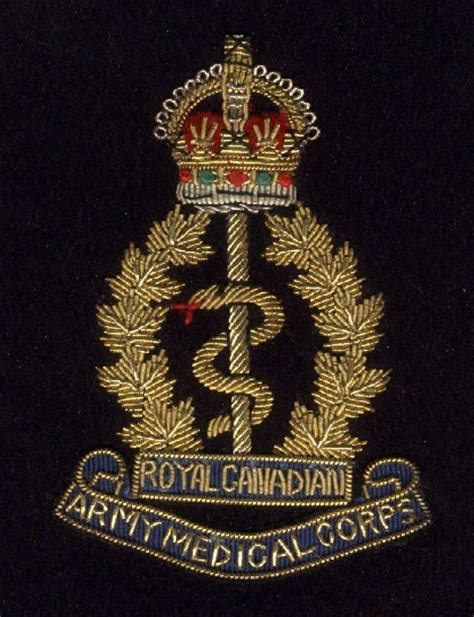 Patches Aufnäher Militär by War Story Of The Canadian Army Medical Corps