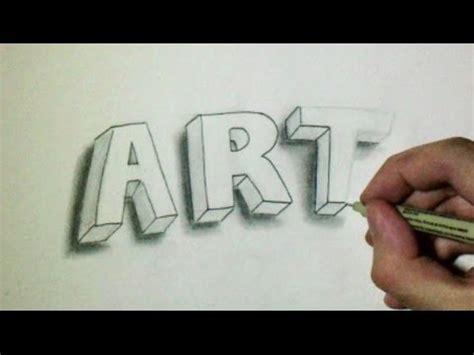 Dessiner Des Lettres En 3d Flottantes Youtube