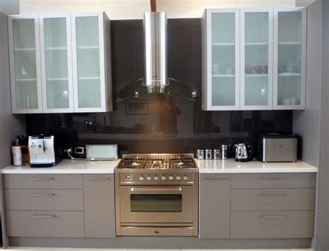 kitchen glass cabinet white overhead kitchen cabinets with frosted glass door