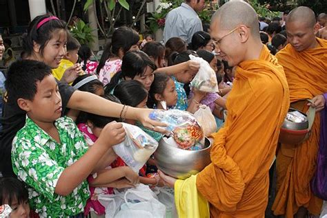new year monk food songkran page 2 thailand festivals 2017