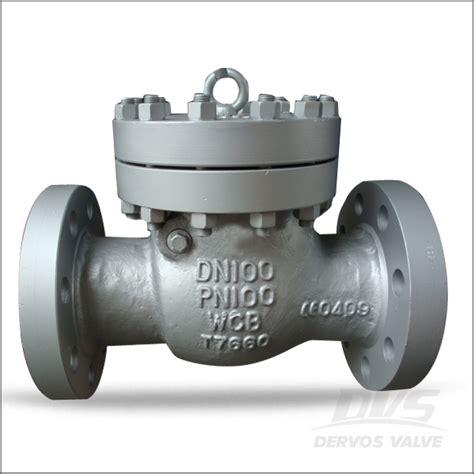 cast steel swing check valve cast steel swing check valve rf dn100 pn100 dervos