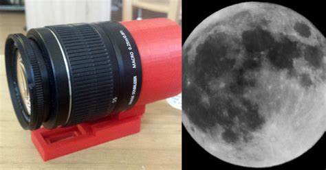 raspberry pi lens shooting the moon with a raspberry pi and canon ef lens