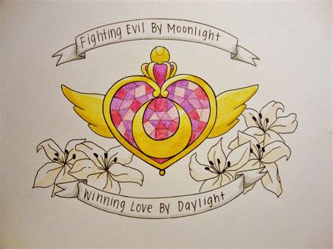 sailor moon tattoo designs sailor moon by dainty tea on deviantart