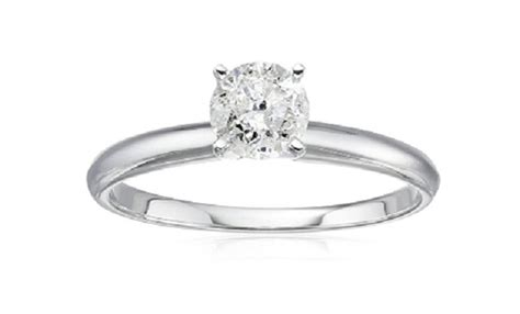 engagement ring deals amazon includes 14k solitaire