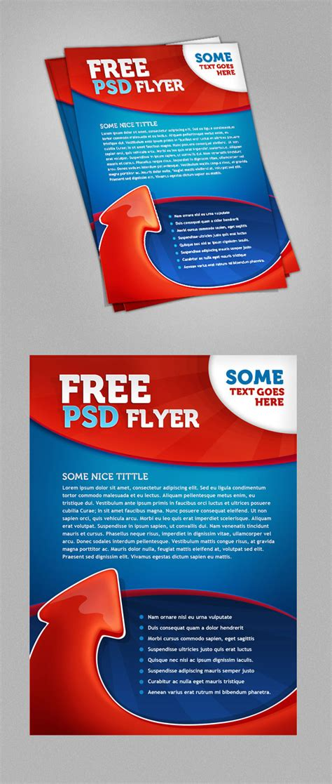 Psd Flyer Template Free Psd Files Next Day Flyers Templates