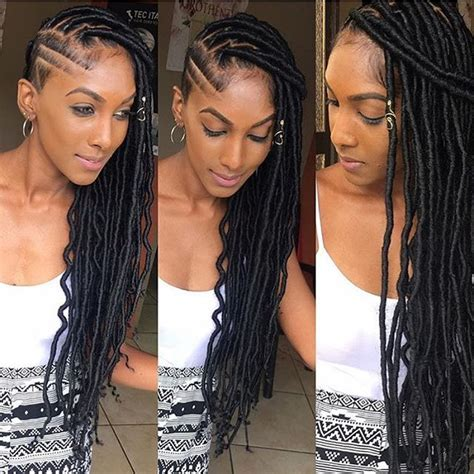 shaved nd dreads hair styles 1829 best images about braids on pinterest ghana braids