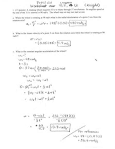 Coefficient Of Friction Worksheet Answers by Collection Of Kinematics Worksheet Bluegreenish