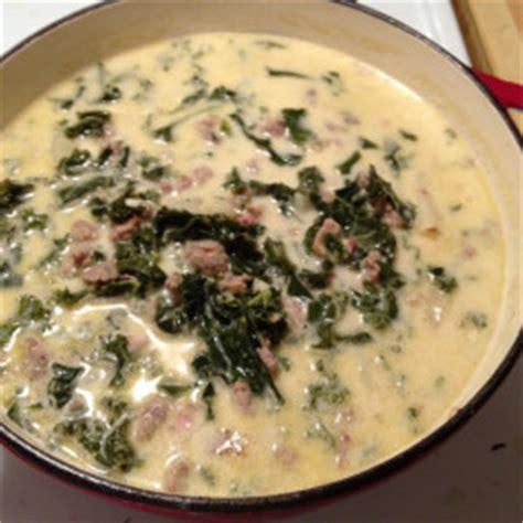 olive garden 256 olive garden style zuppa toscana wedding soup