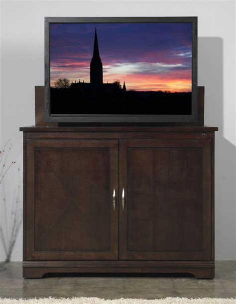 modern tv stand tremont unfinished wood tv lift cabinet large size tremont unfinished wood tv sonoma tv lift cabinet for flat screen tv s up to 46