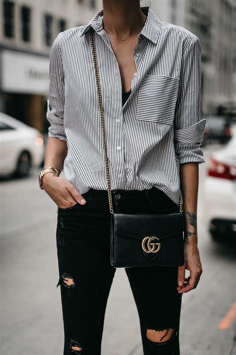 Black Fashion Shirt an effortless way to wear a striped shirt fashion jackson