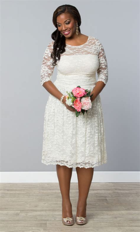 Plus Size Casual Wedding Dresses by For The More Casual Opt For Our Plus Size