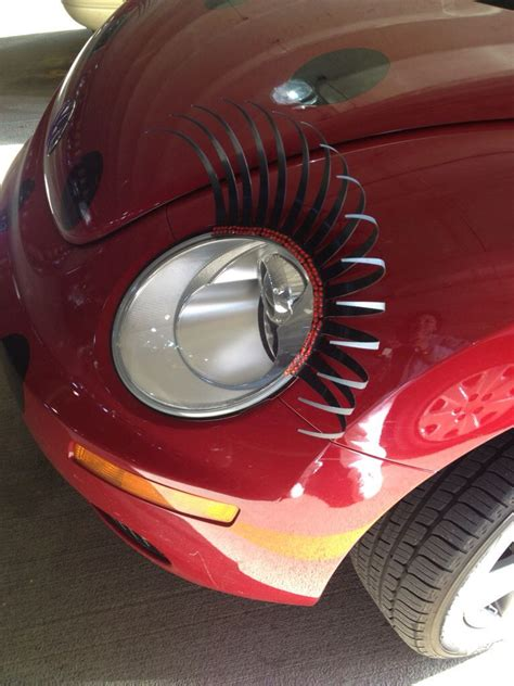 Volkswagen Beetle Accessories by Buggy Accessories Eyelashes For The New Vw Beetle Not