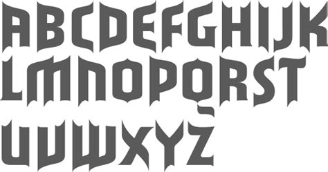 Are You The Mysterious Type by Myfonts Mysterious Typefaces