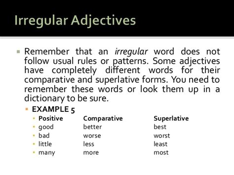 sentence for rugged chapter 4 using adjectives in sentences
