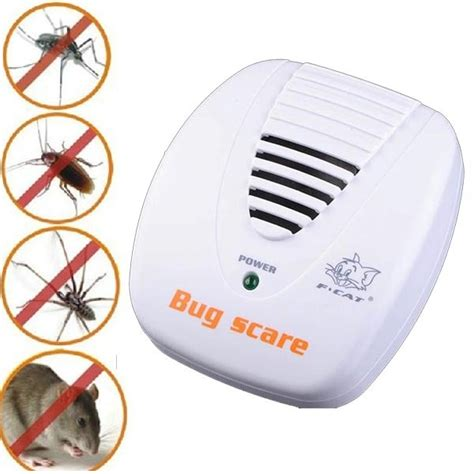 Anti Nyamuk Bug Scare Ultrasonic Rat Pest Repeller 1 bug scare ultrasonic rat pest repeller anti