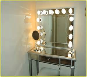 Makeup dressing table mirror lights furniture charming makeup table