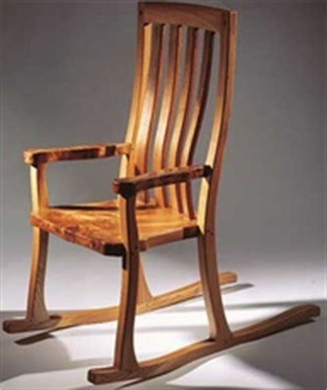 rocking chair woodworking plans easy  follow