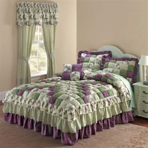 brylane home bedding 1 low price brylane home alexis bedspread purple green