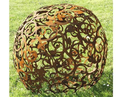 Garten Deko Kugel Rost by Deko Kugel Barock 2 Teilig 216 60 Cm Rost Kaufen Bei Hornbach Ch