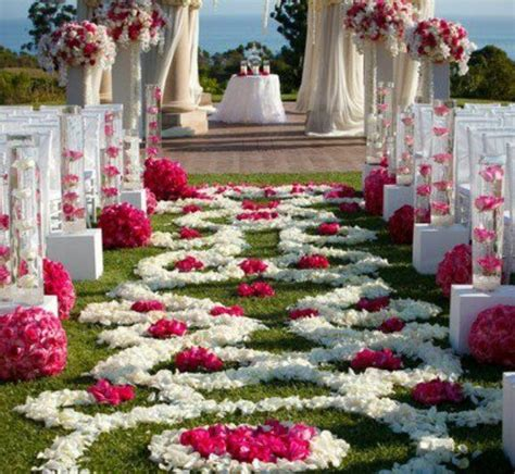 25 best outdoor wedding aisles ideas on